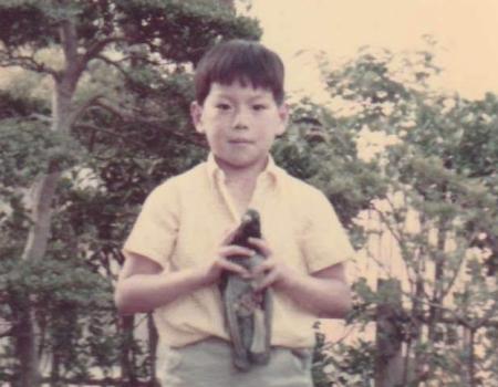 子供のころの写真
