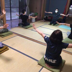 瞑想のまりちゃんとのコラボ!